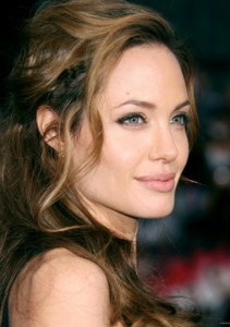 Анджелина Джоли макияж