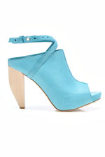 модные голубые ботильоны весна-лето 2011