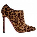модные леопардовые ботильоны весна-лето 2011
