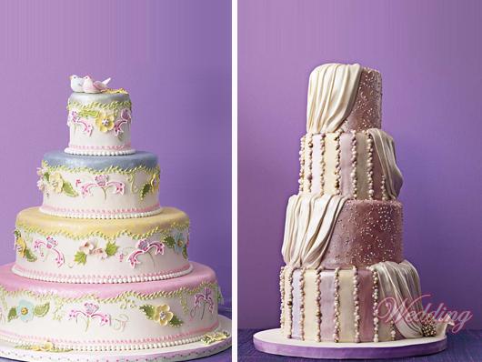 свадебные красивые торты фото