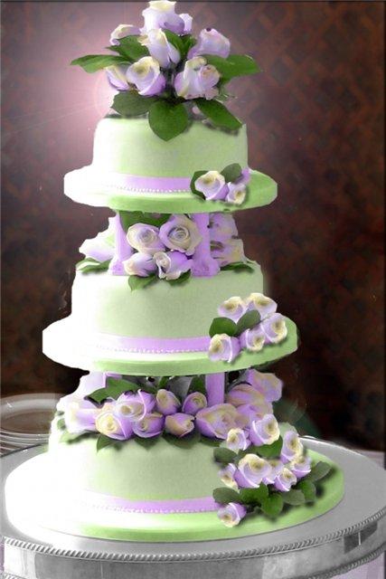 Как покрасить мастику для торта?