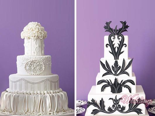 свадебный красивый торт фото