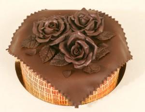 украшение тортов в домашних условиях с  шоколадом