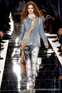 модные женские джинсы 2011 с принтами
