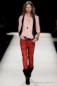 женские джинсы 2011 с принтами