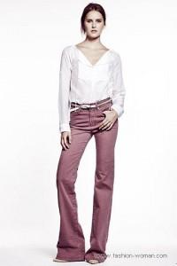 женские джинсы 2011 клешные