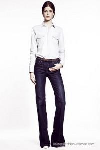 модные джинсы 2011 клешные
