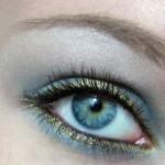 дневной макияж тени для век