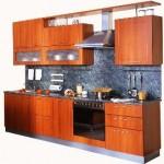 кухня мдф вишня фото