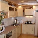 светлая кухня мдф фото