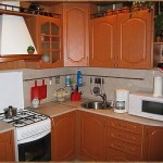 угловая кухня мдф фото