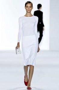 платья белые весна-лето 2011