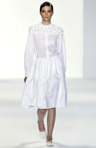 платья весна-лето 2011 белые