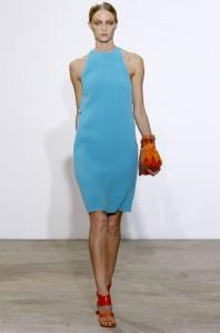 модные простые платья весна-лето 2011