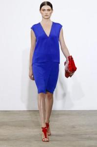 модные простые  платья 2011