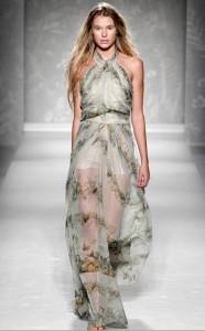 платья шифоновые  весна-лето 2011
