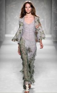 модные платья весна-лето 2011 шифоновые