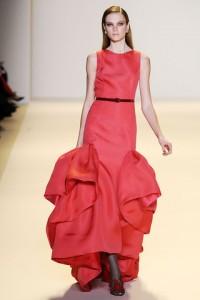 модные вечерние платья 2011 от carolina herrera
