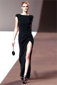 модные простые вечерние платья 2011