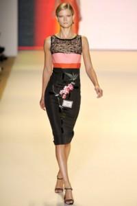модные вечерние платья 2011 от caroline herrera