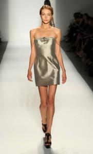 вечерние простые платья 2011