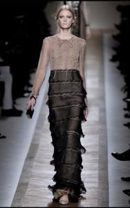 модные вечерние длинные платья 2011