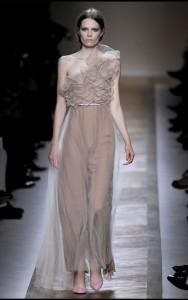 модные шифоновые вечерние платья 2011