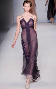 вечерние прозрачные платья 2011
