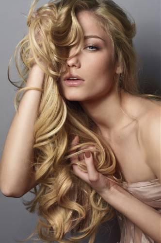 Естественный блонд цвет волос фото