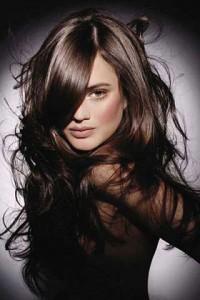 модный цвет волос 2011 брюнетки