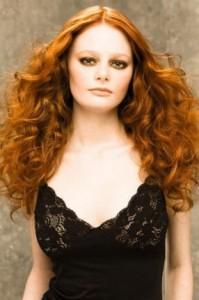 модный цвет волос 2011 рыжие