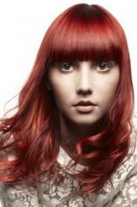 модные цвета волос 2011 рыжие
