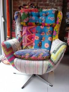 кресло пэчворк
