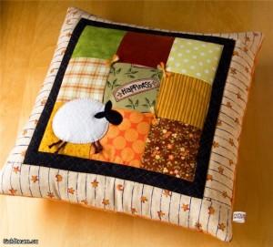 пэчворк подушка