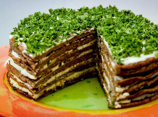 Печеночный торт домашний рецепт