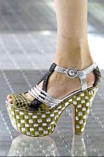 обувь весна-лето 2011 в шашку