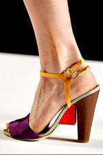 обувь весна-лето 2011 fendi