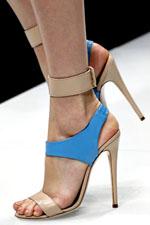цветастая обувь весна-лето 2011