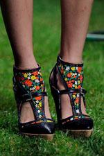обувь весна-лето 2011 с принтами