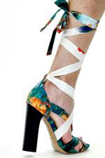 обувь весна-лето 2011 принты