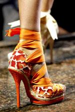 обувь весна-лето 2011 под леопарда