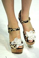 леопардовая обувь весна-лето 2011