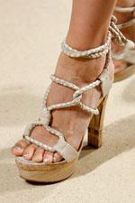 обувь весна-лето 2011 шнурки и ленты