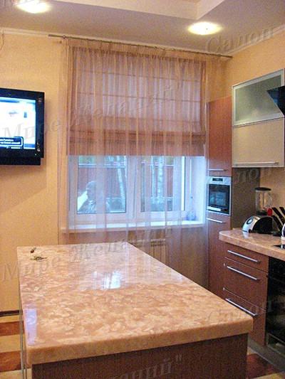 Дизайн занавесок для кухни фото