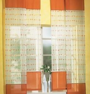 японские шторы для кухни фото