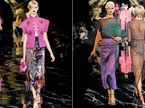 юбки лето-весна 2011 макси