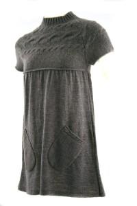 модные вязаные туники 2011