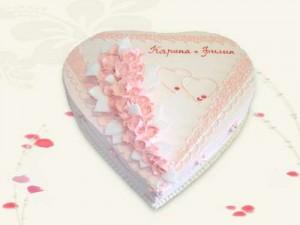 одноярусный свадебный торт цена