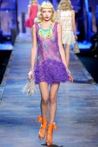 прозрачное молодежное платье 2011