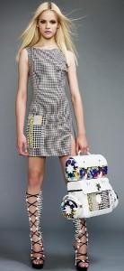 молодежное платье 2011 простые силуэты